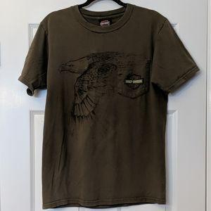 Men's HARLEY DAVIDSON Gastonia, NC Eagle T-shirt